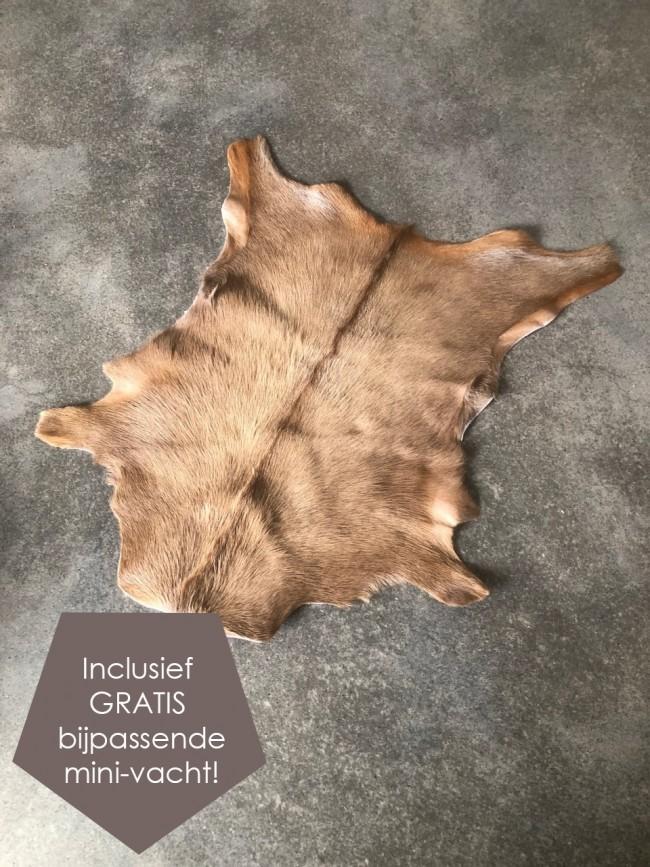 geitenhuid bruin