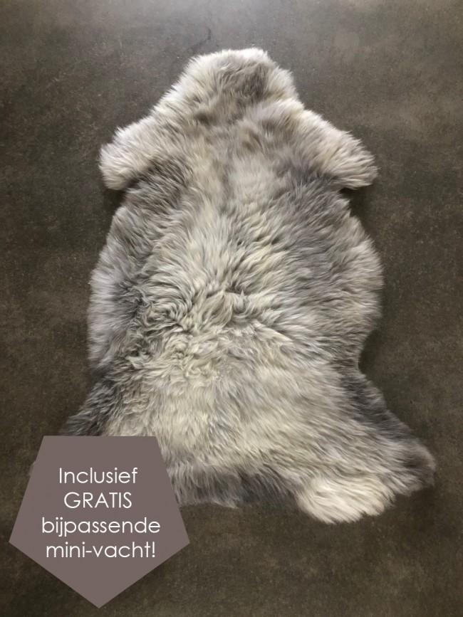 schapenvel grijs XXL