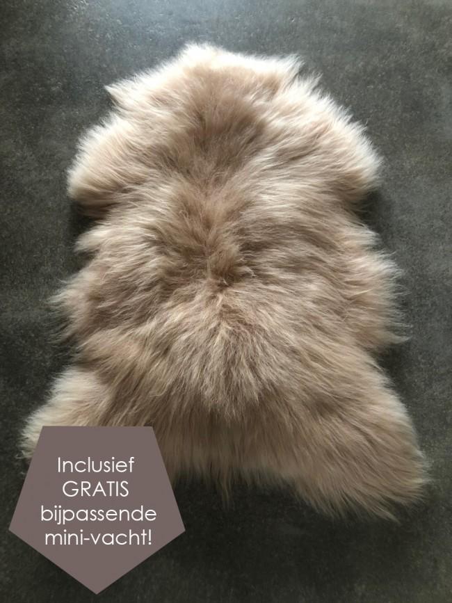 IJslandse schapenvacht blond groot