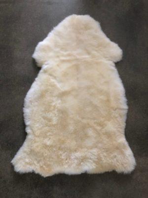 schapenvel wit
