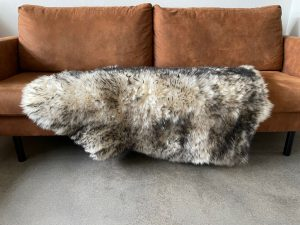 Nederlandse moeflon schapenvacht XL