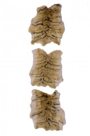 konijnenvachtje met tijgerprint