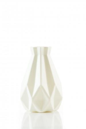 witte design bloemenvaas